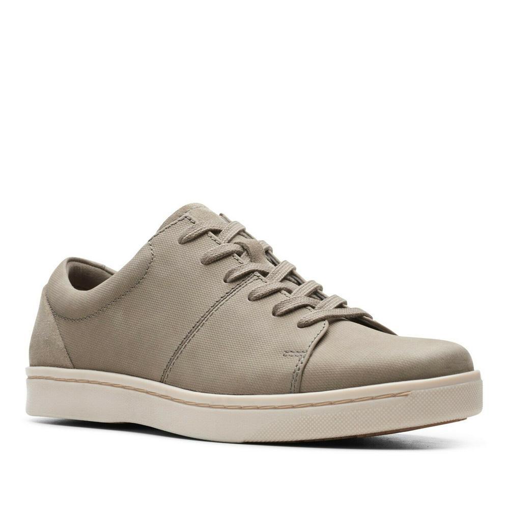 Clarks Men's Kitna Vibe Shoes Various Colours 5050410311130 - 11 UK Sage