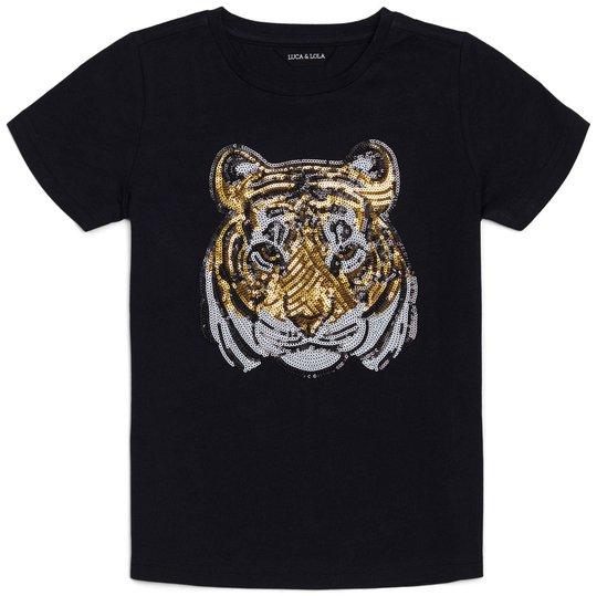 Luca & Lola Tina T-shirt, Black 134-140