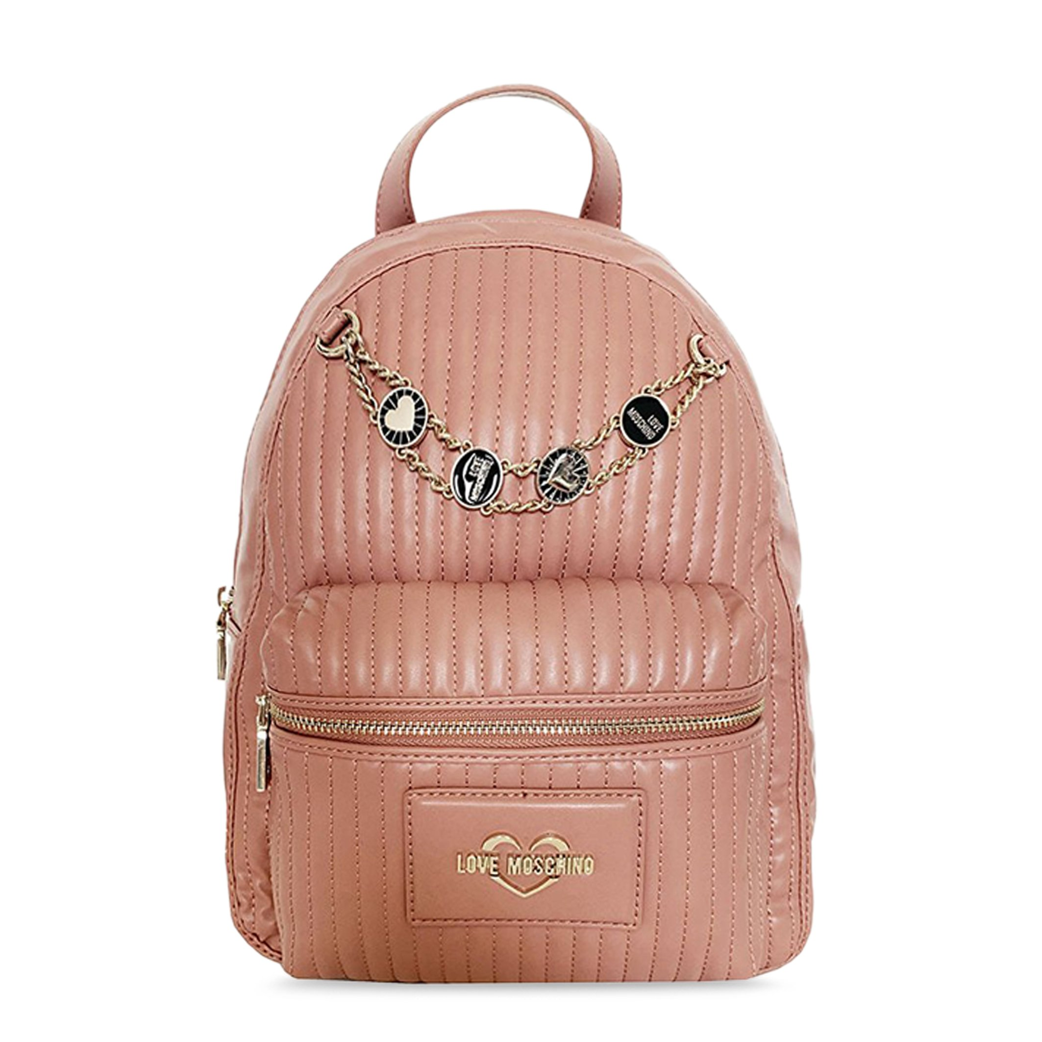 Love Moschino Women's Backpack Various Colours JC4142PP1DLB0 - pink NOSIZE