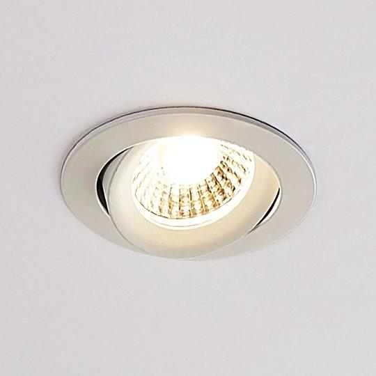 Arcchio Ozias - LED-kohdevalo, valkoinen, 4,2 W