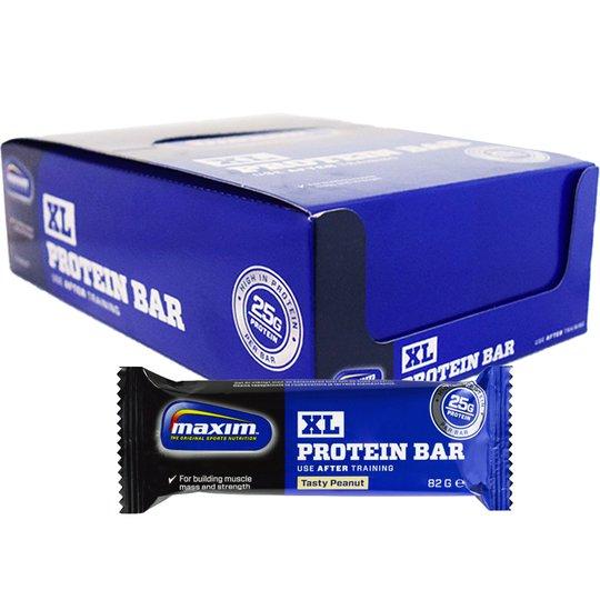 """Hel Låda Proteinbars """"Tasty Peanut"""" 15 x 82g - 67% rabatt"""