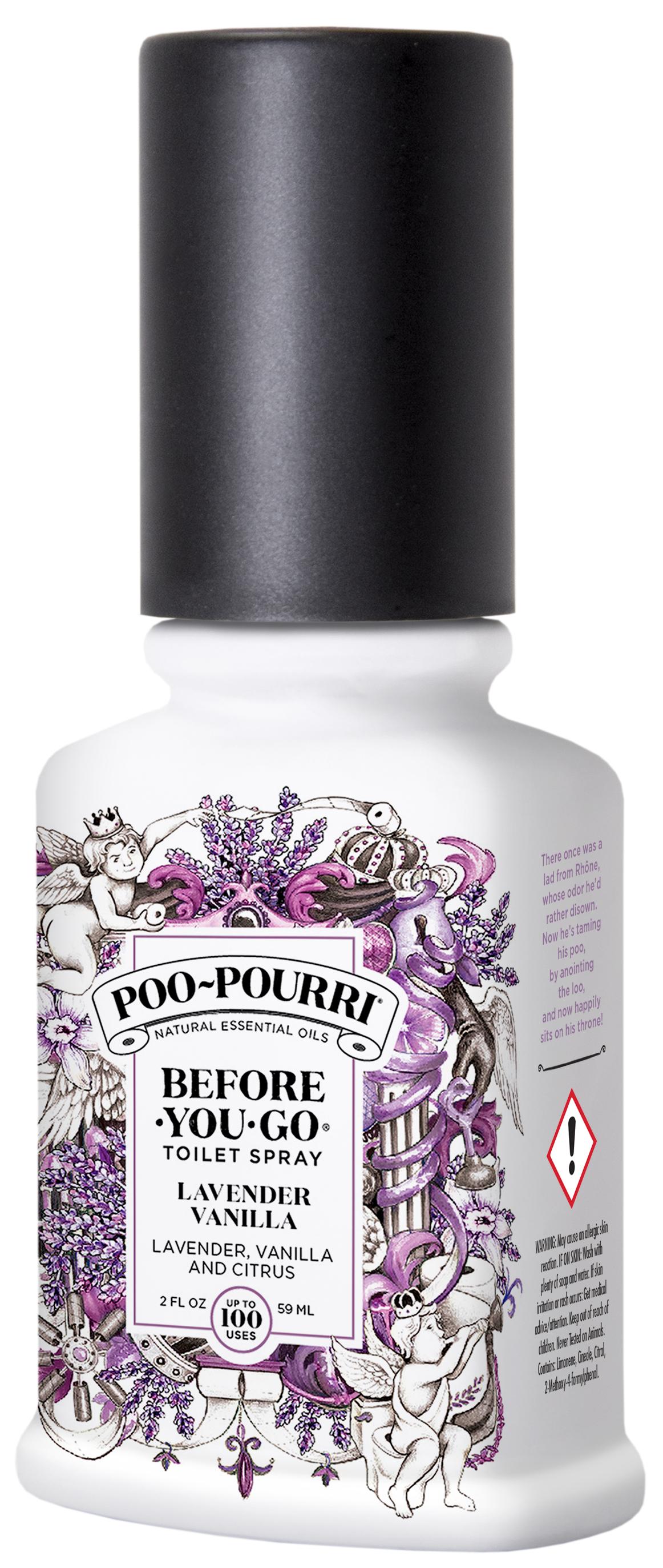 Poo~Pourri - Lavender Vanilla Toilet Spray 59 ml