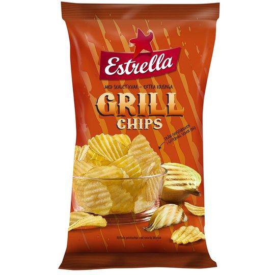 Grillchips 40g - 11% rabatt