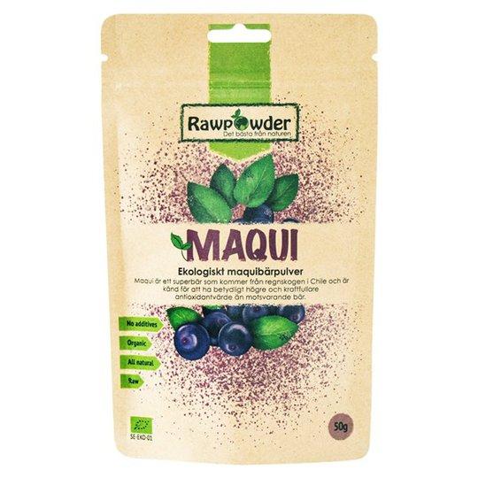 Rawpowder Ekologiskt Maquibärpulver, 50 g