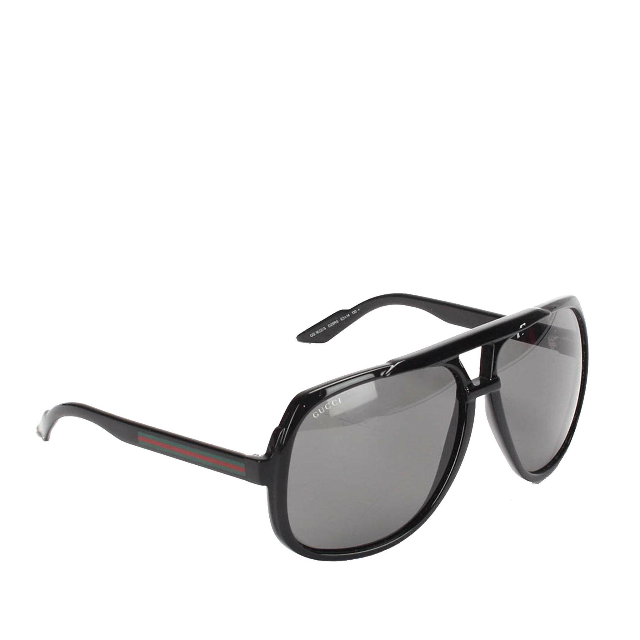 Gucci Web Aviator Sunglasses, ONESIZE