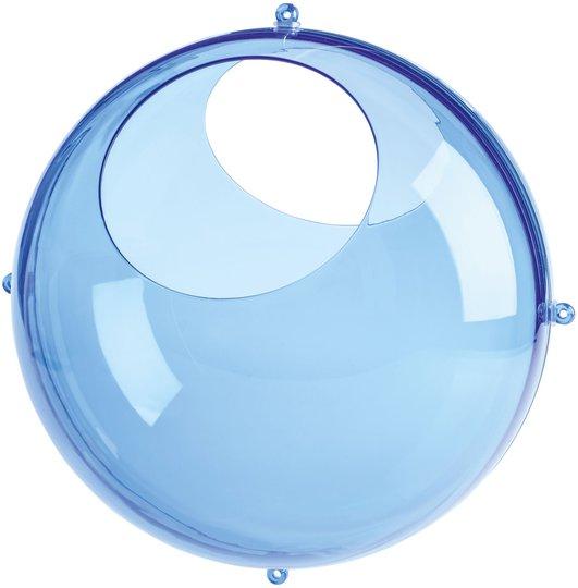 Koziol Veggoppbevaring Orion Transparent, Blå