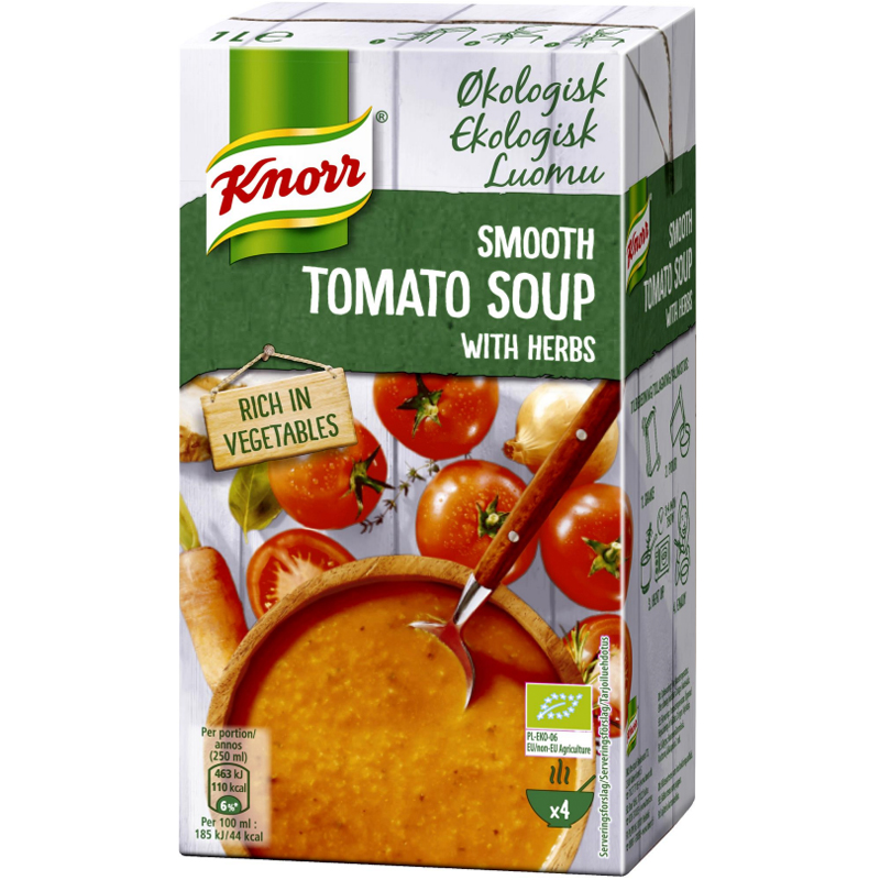 "Eko Tomatsoppa ""Herbs"" 1l - 71% rabatt"