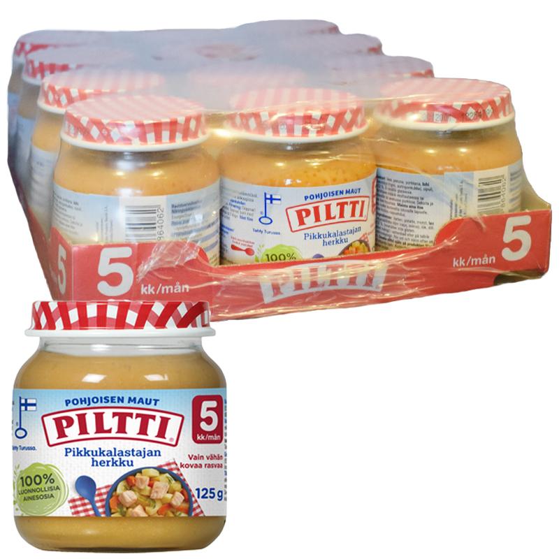 Barnmat Lax, Potatis & Morot 12-pack - 32% rabatt