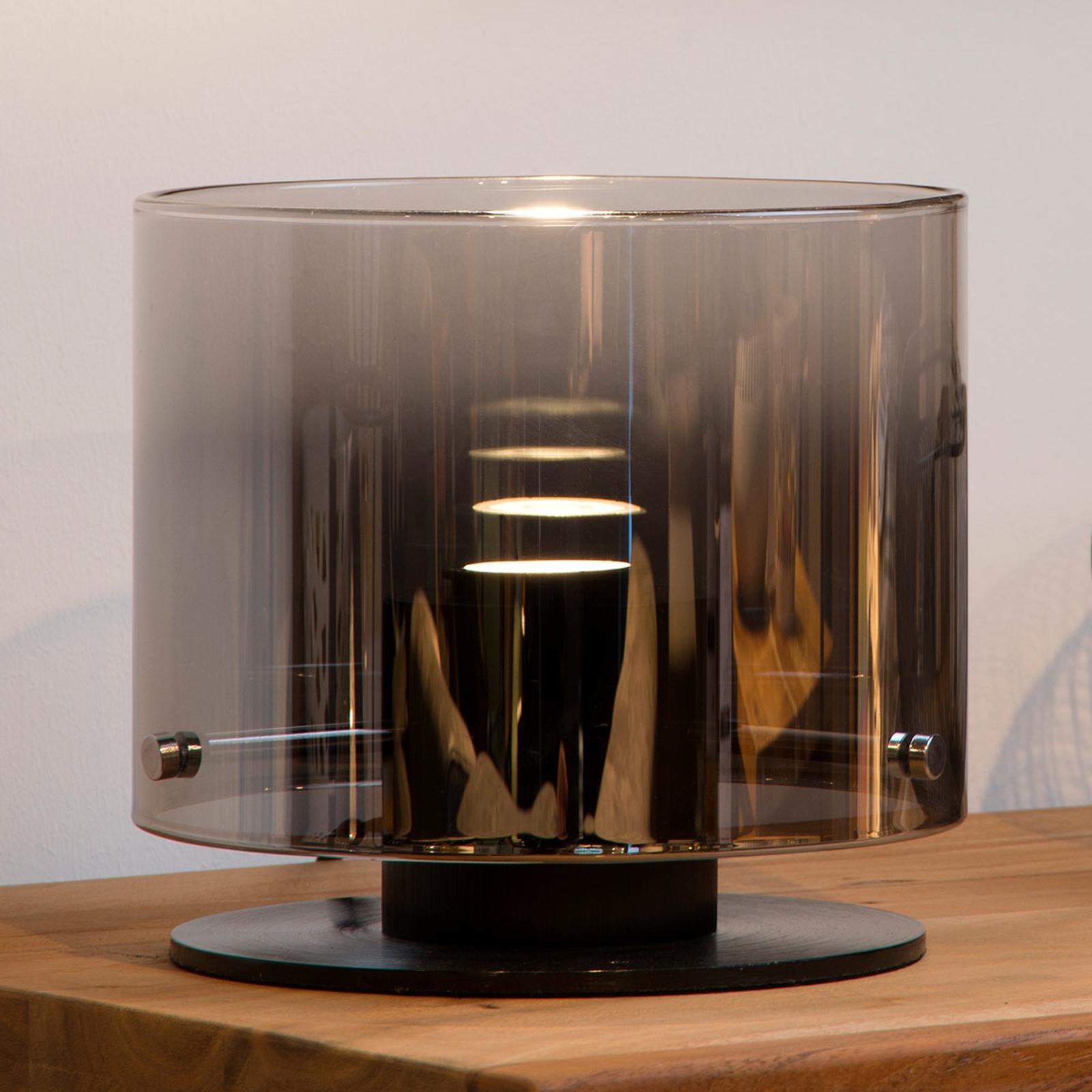 LED-pöytälamppu Owino peiliefektillä