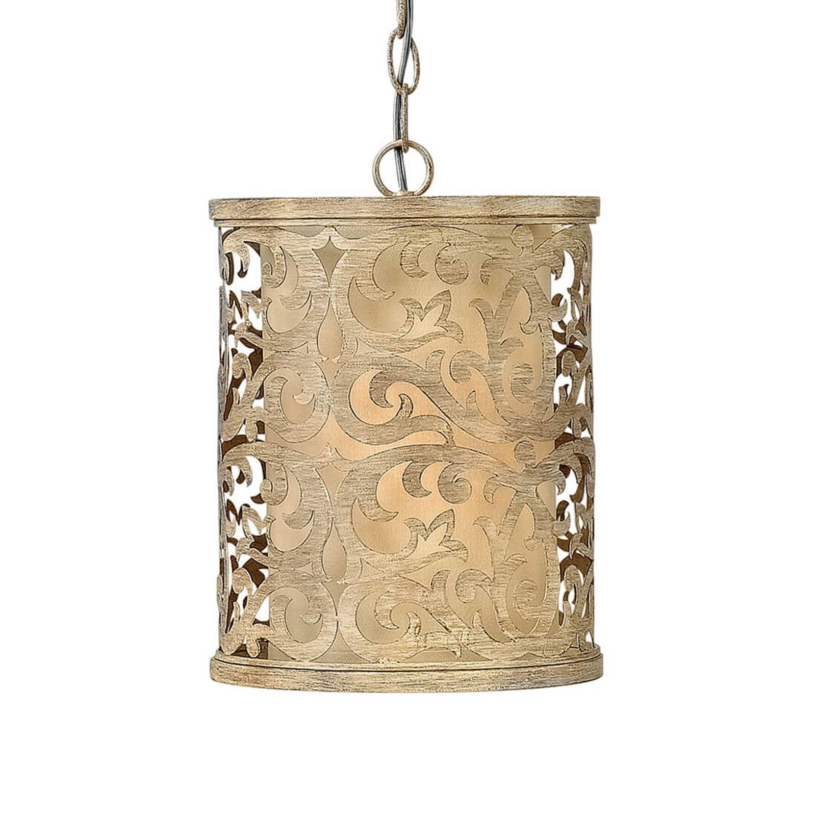 Carabel – riippuvalaisin antiikki-designilla