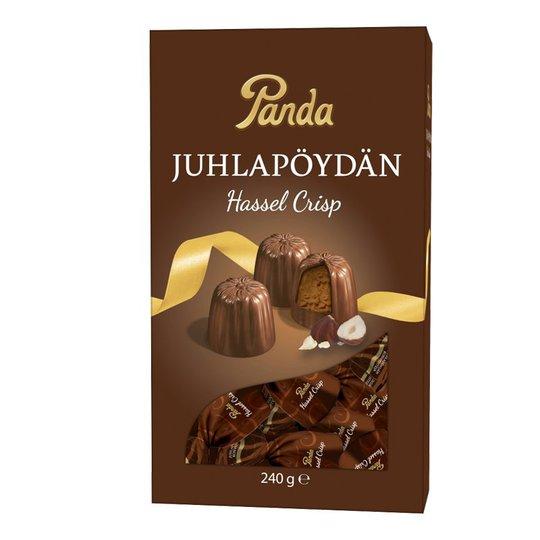 "Mjölkchokladkonfekt ""Hassel Crisp"" 240g - 62% rabatt"