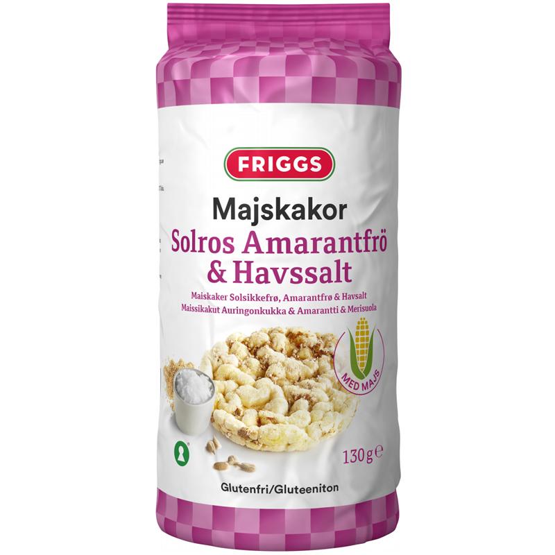 Majskakor Solros, Amarantfrö & Havssalt - 44% rabatt