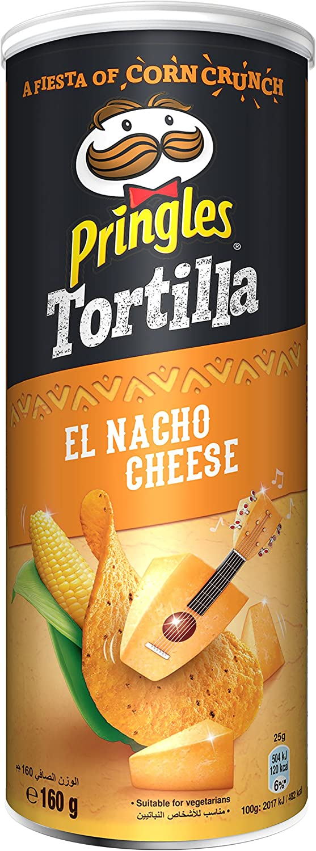 Pringles Tortilla El Nacho Cheese 180g
