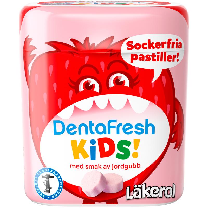 DentaFresh Kids Jordgubb - 62% rabatt