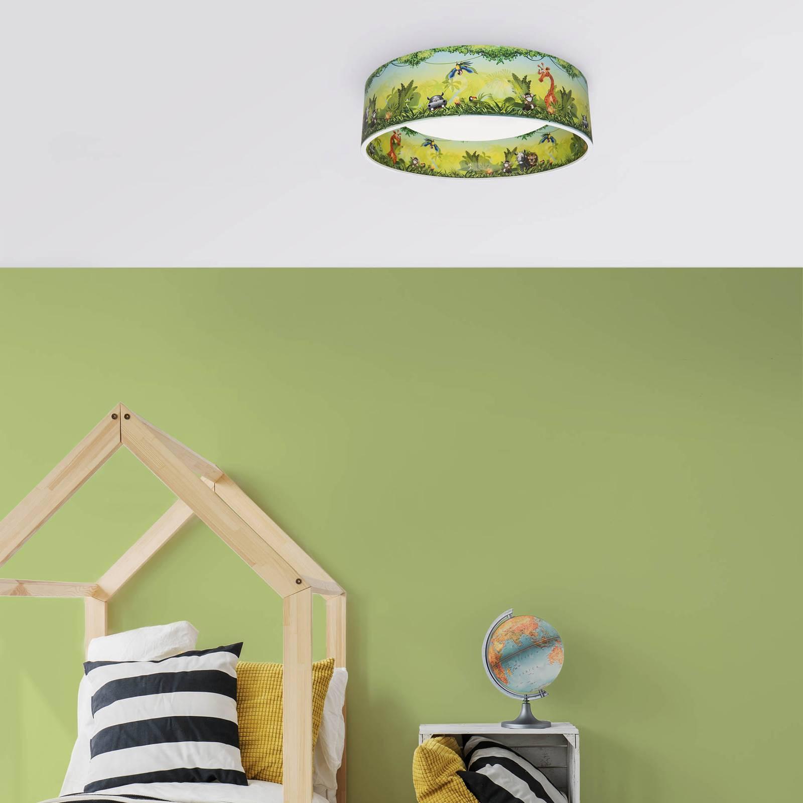 LED-kattovalaisin Starlight, viidakko