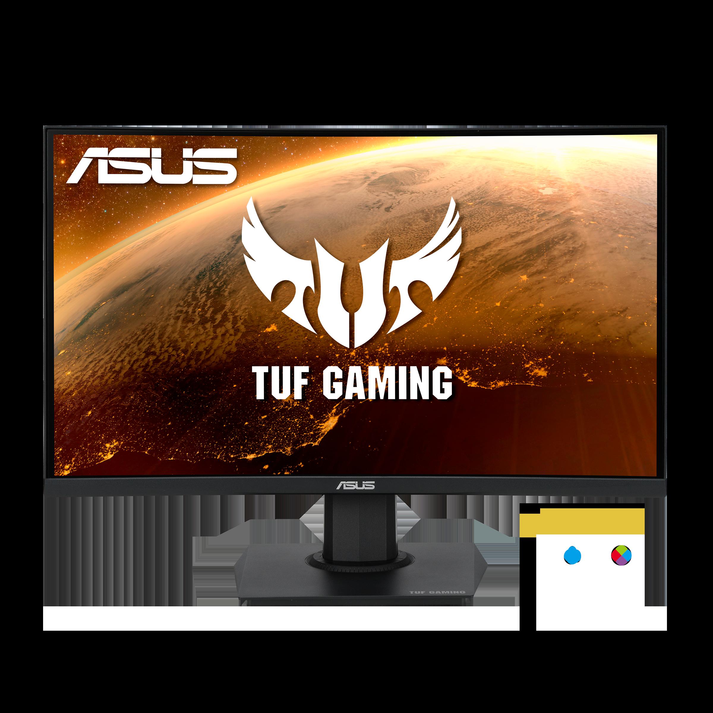 Asus - TUF Gaming VG24VQE Curved Gaming Monitor 165Hz