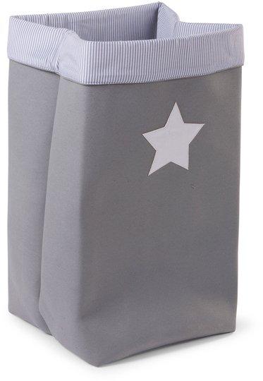 Childhome Oppbevaringsboks Stor, Grey Stripes