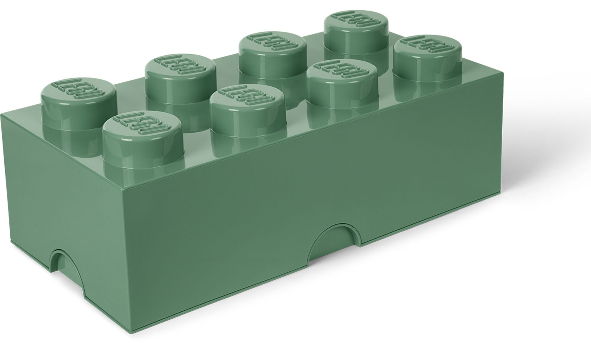 LEGO 8 Säilytyslaatikko, Tummanvihreä