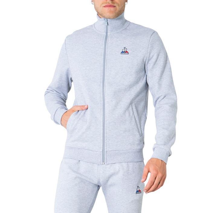 Le Coq Sportif Men's Sweatshirt Various Colours 305026 - grey M