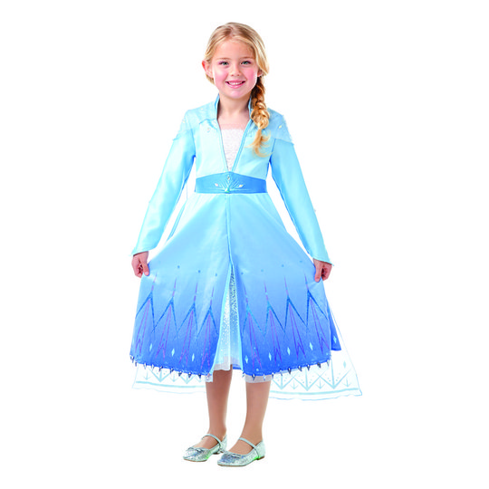 Frozen 2 Elsa Premium Barn Maskeraddräkt - Small