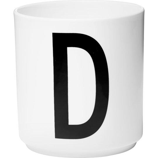 Design Letters Porslinsmugg Vit, D