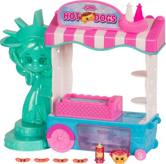 Shopkins S8 World Vacation America Hotdog Stand