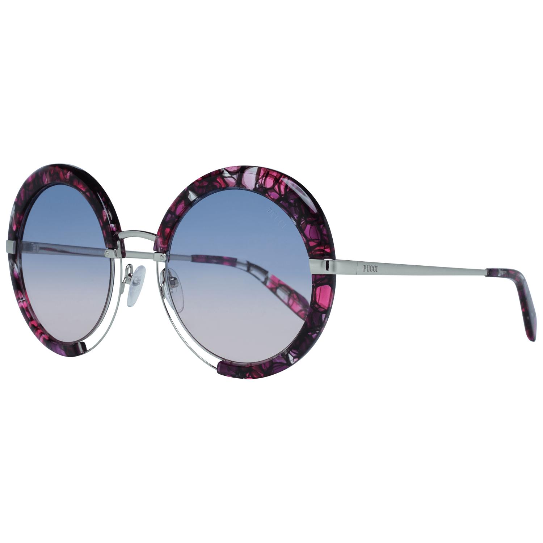 Emilio Pucci Women's Sunglasses Burgundy EP0114 5454W