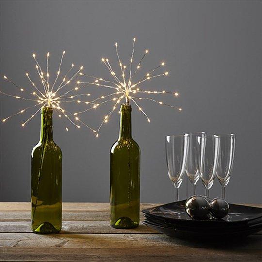 Dekorationskvist Fireworks LED - 1-pack
