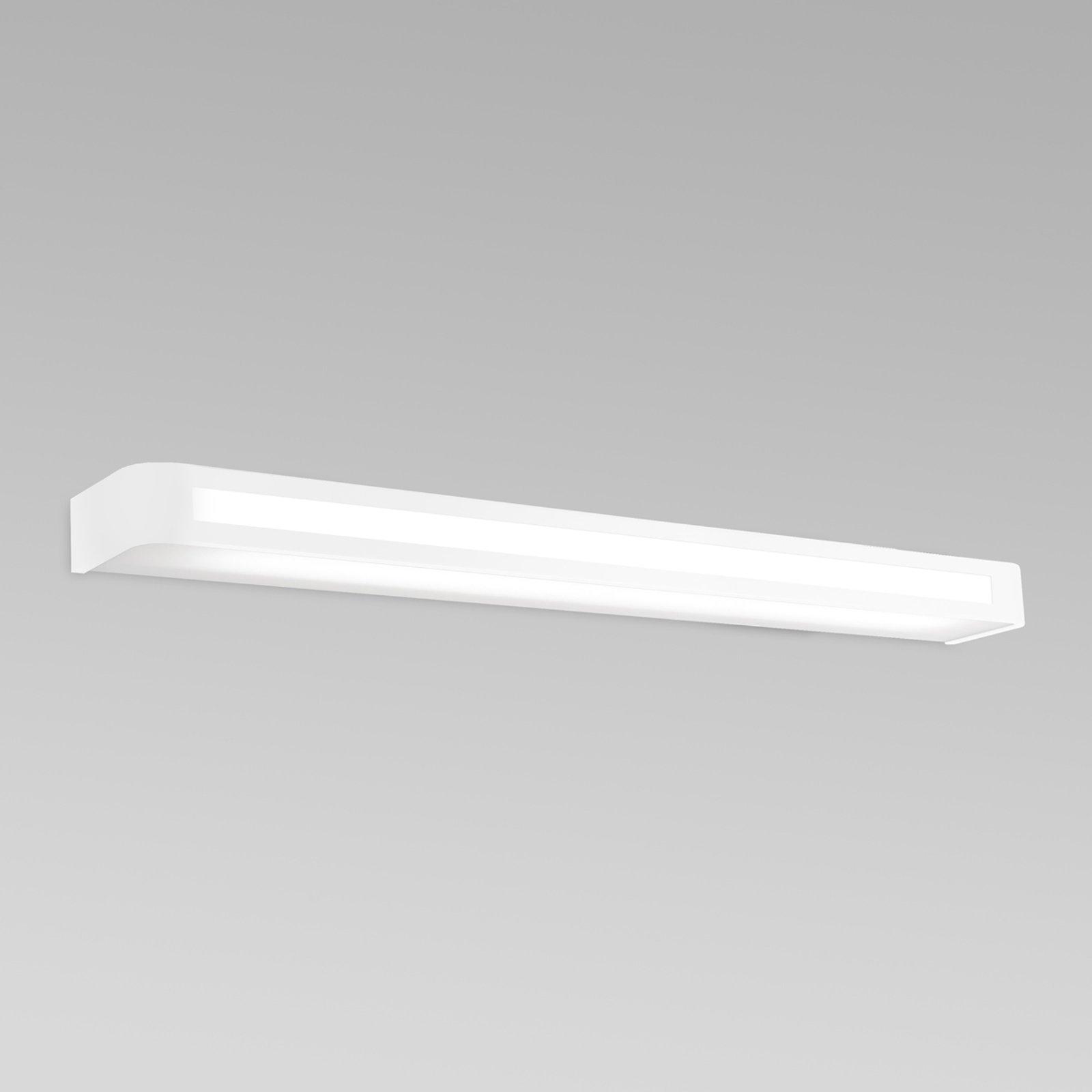 Tidløs LED-vegglampe Arcos, IP20 90 cm, hvit