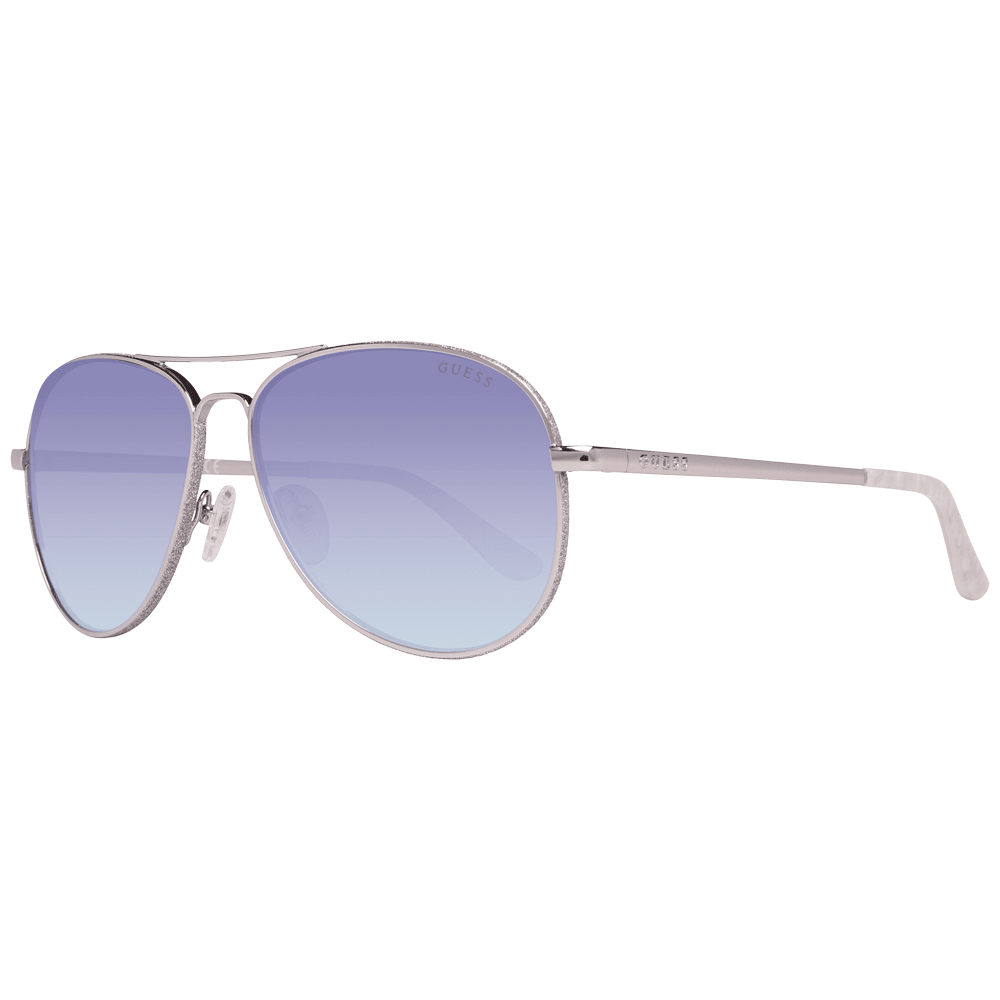 Guess Women's Sunglasses Silver GU7555 5910X