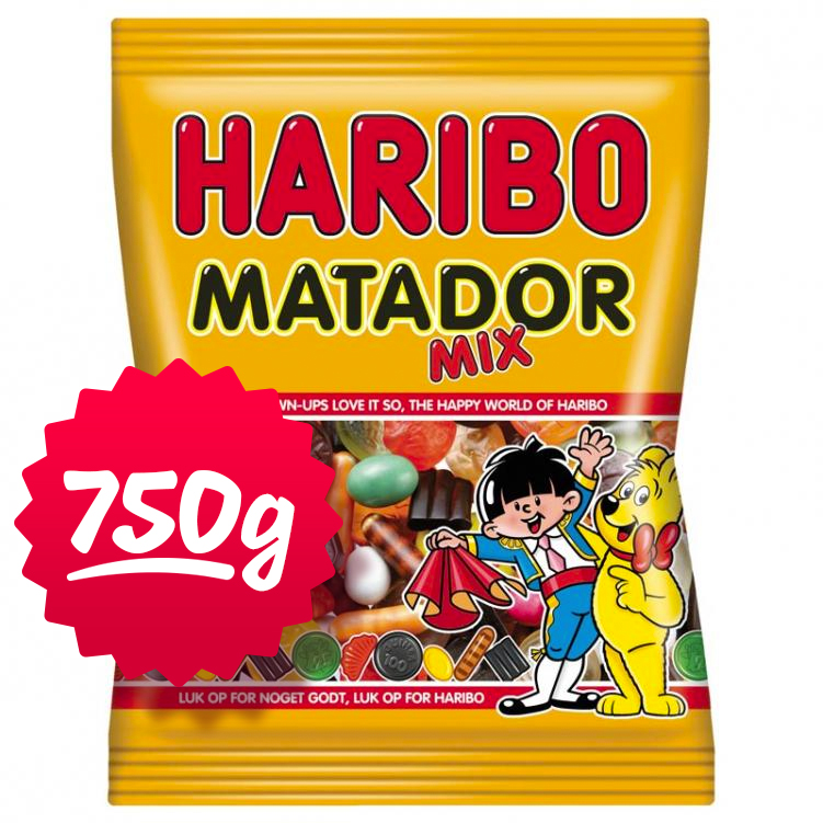 """Godis """"Matadormix"""" 750g - 49% rabatt"""