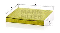 Raitisilmasuodatin MANN-FILTER FP 2358