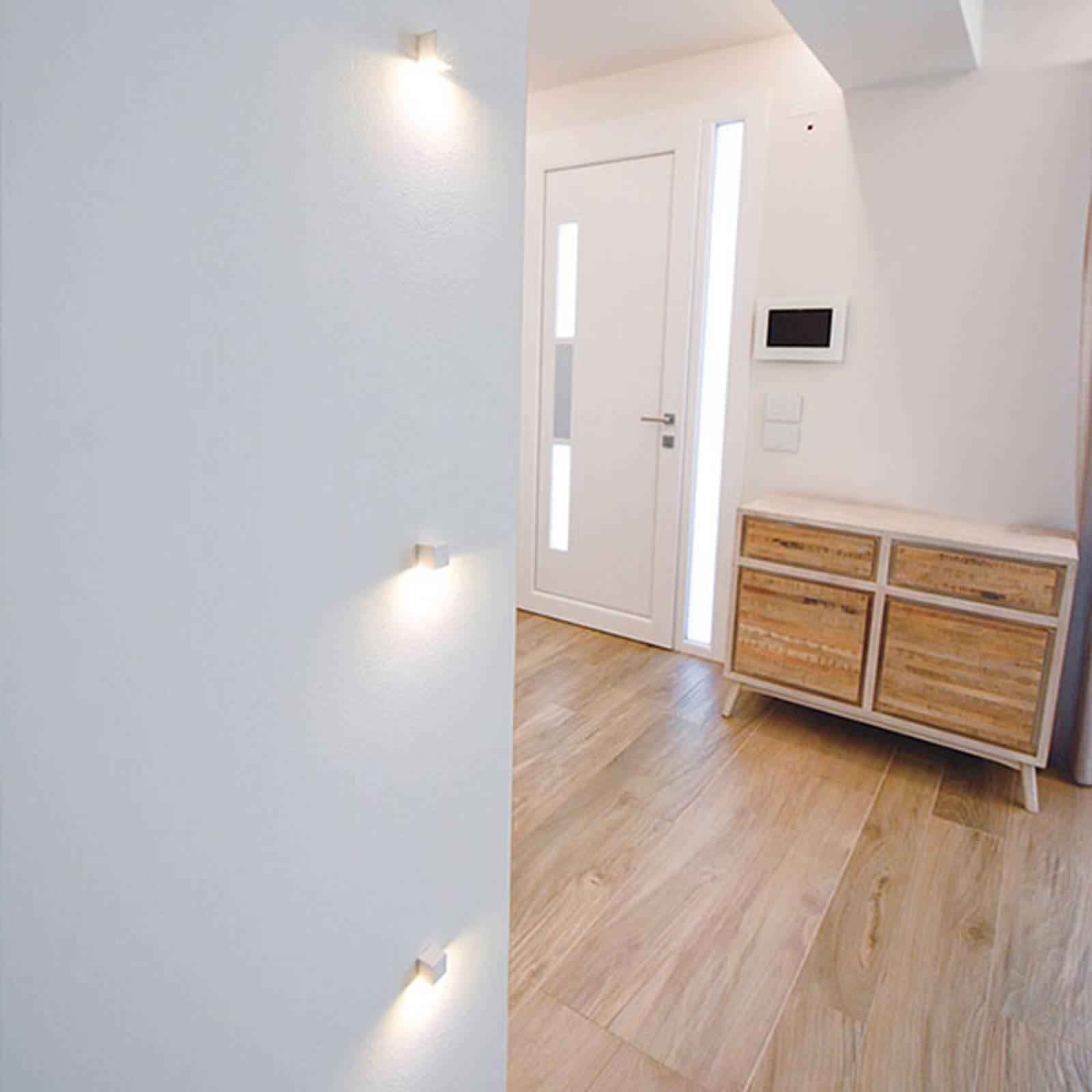 LED innfelt vegglampe 2466B, 2 700 K