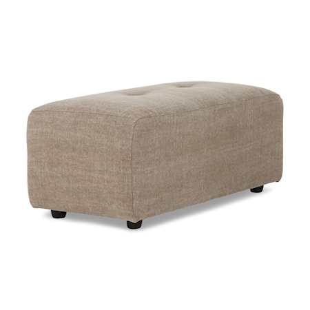 Vint couch Soffmodul hocker Small Linneblandning Taupe