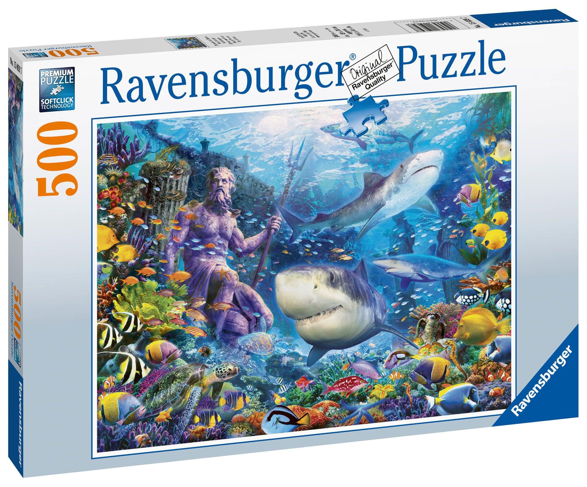 Ravensburger Pussel Havets Konung 500 Bitar