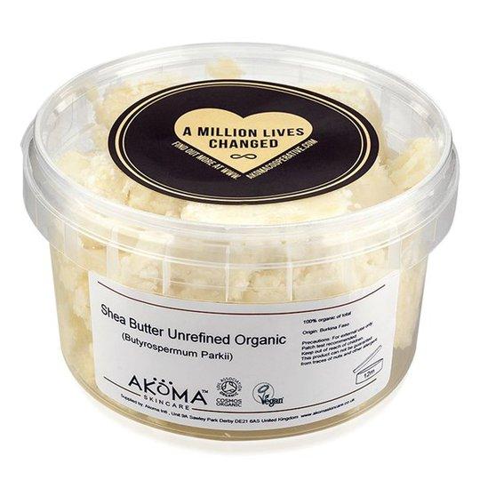 Akoma Unrefined Organic Shea Butter, 125 g