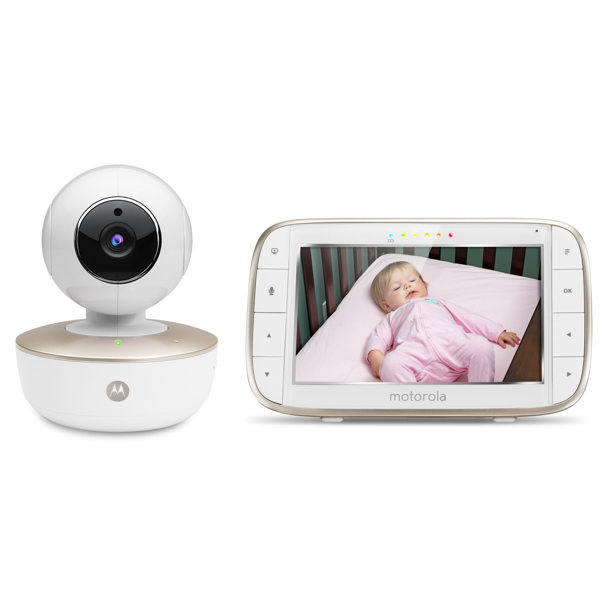 Motorola - MBP 855 Wifi with Rechargeable Camera