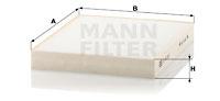 Raitisilmasuodatin MANN-FILTER CU 23 003