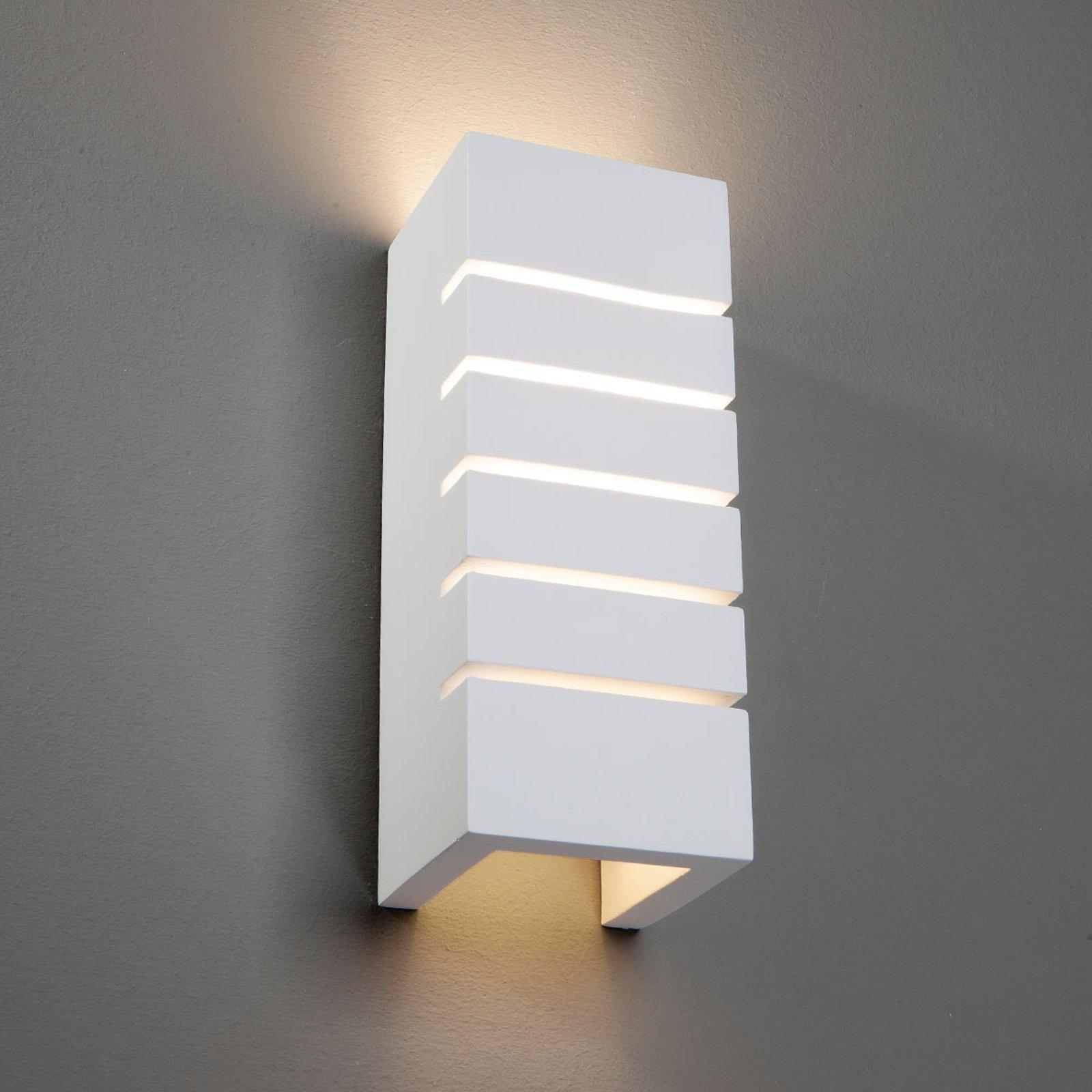 Flavian vegglampe med snittåpning, indirekte lys