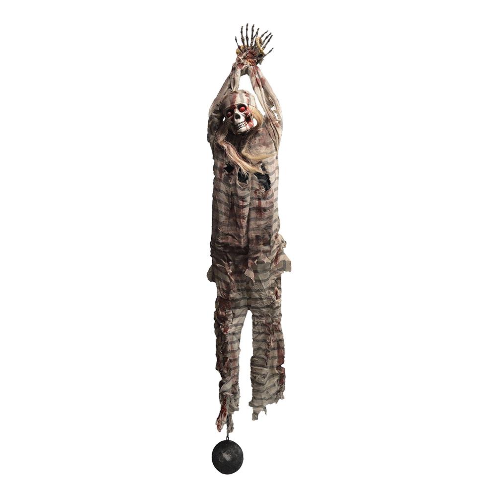 Hängande Skelettfånge Prop - 210 cm