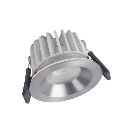 LEDVANCE Spot LED Fireproof Dim Kohdevalaisin 8 W, IP65, hopea 3000K