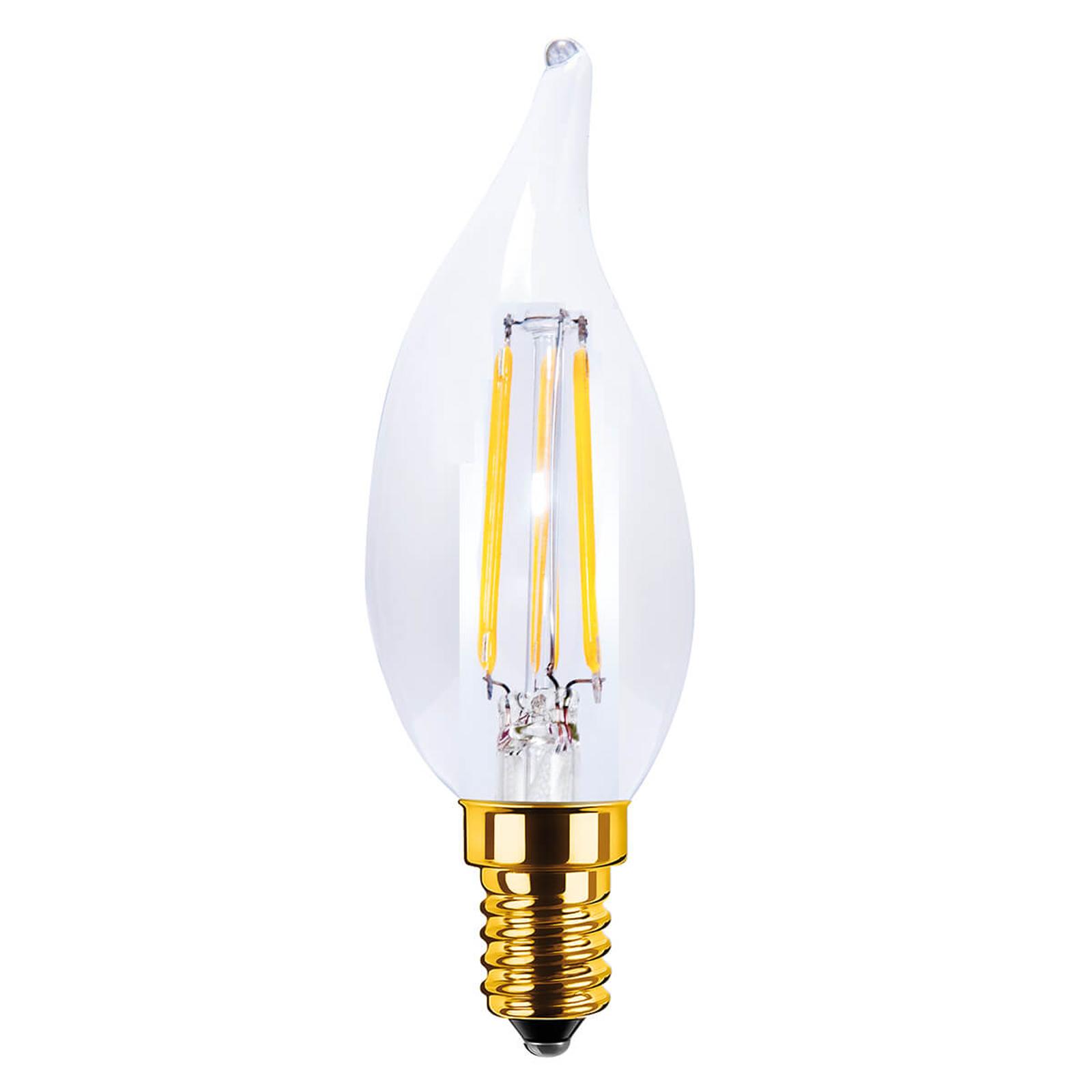 LED-kynttilälamppu E14 3,5 W 922, vintage, kirkas
