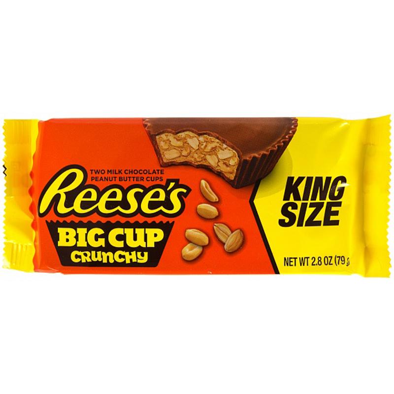 """Godis """"Big Cup Crunchy"""" 79g - 87% rabatt"""