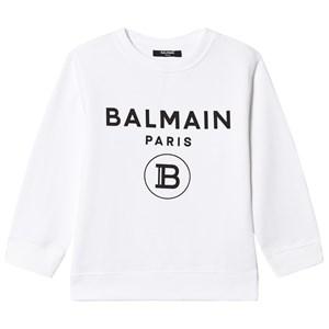 Balmain Branded Tröja Vit 4 years