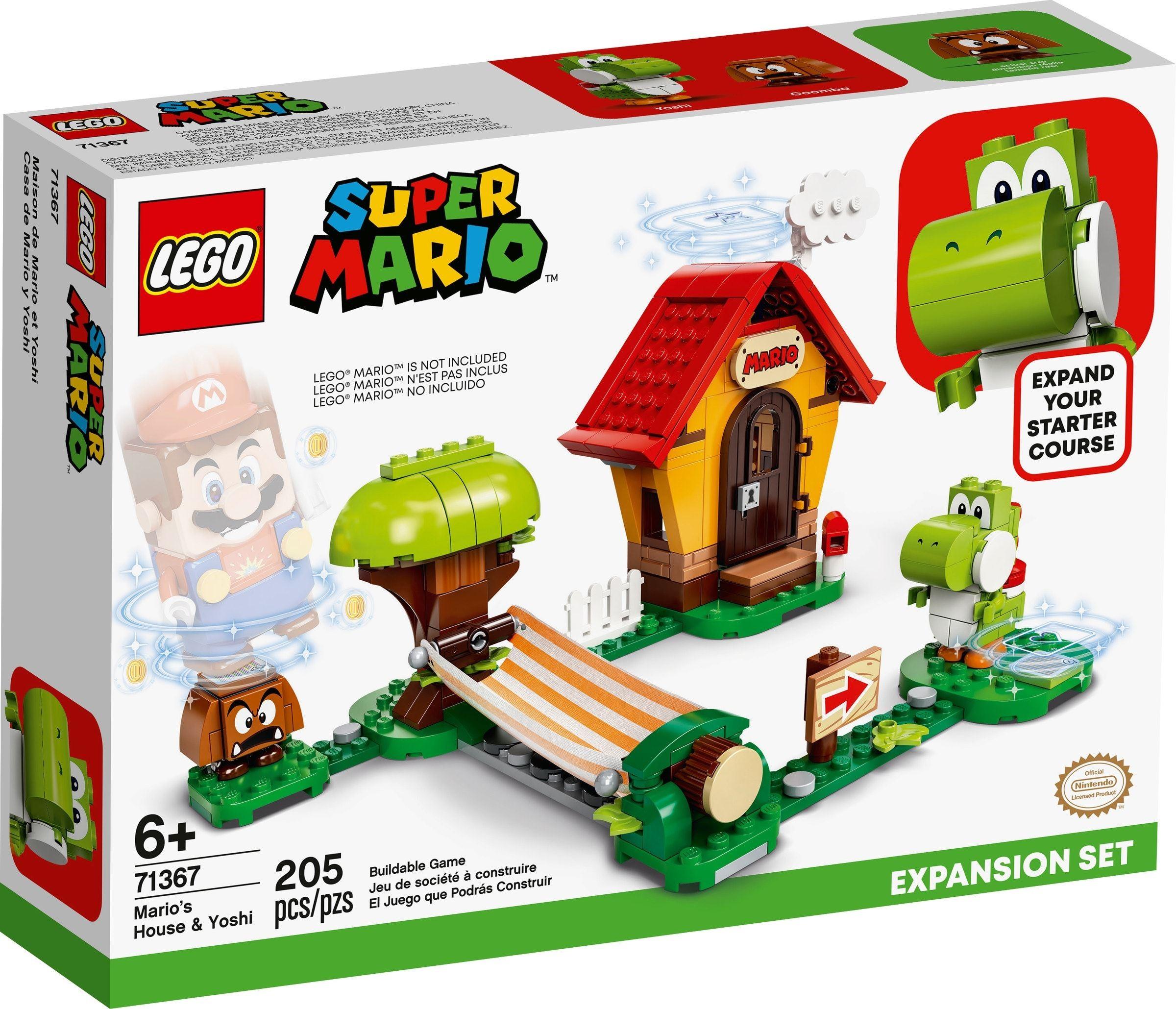 LEGO Super Mario - Mario's House & Yoshi Expansion Set (71367)