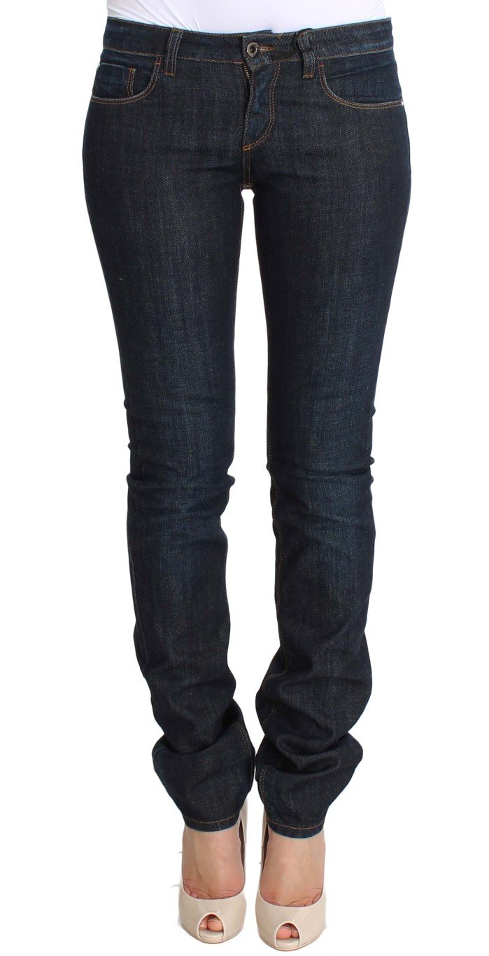 Costume National Women's Cotton Stretch Slim Fit Jeans Blue SIG30219 - W26