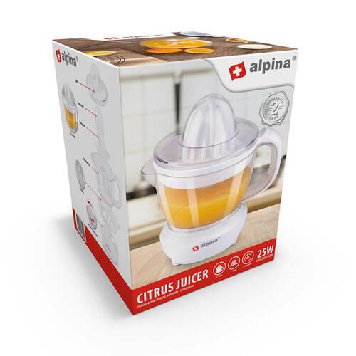 Alpina Citrus Juicer 25w Juicepress - Vit