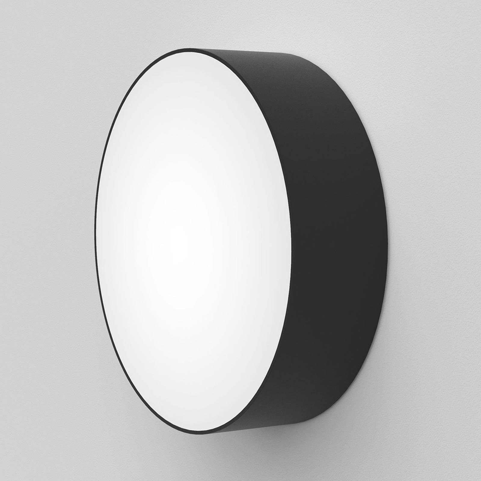 Astro Kea Round 250 -LED-seinävalaisin, musta