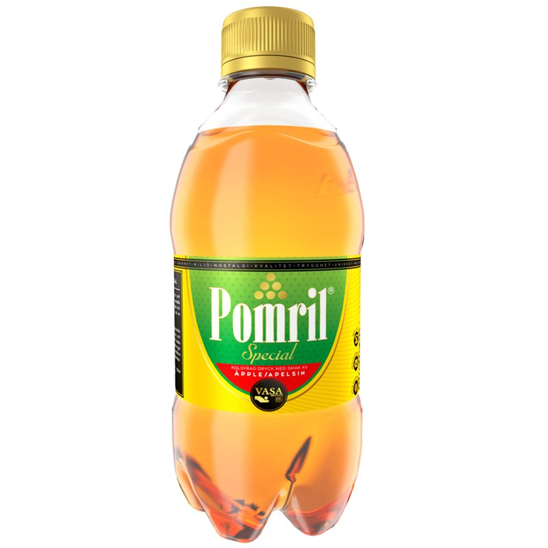 "Dryck ""Pomril"" 33cl - 21% rabatt"