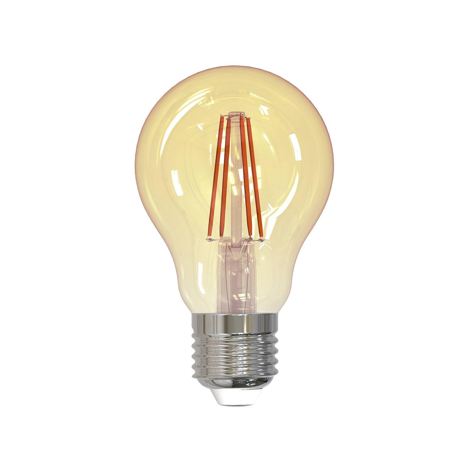 LED-filamenttilamppu E27 4,5W 2 000 K 400 lm kulta